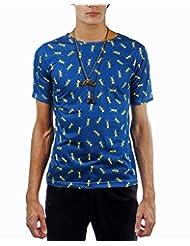 I AM TROUBLE BY KC Men's Crew Neck T-Shirt - B00XYFKMV0