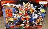 Hurricane Command Megazord Power Rangers Ninja Storm Electronic Action Figure