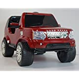 4kids. Land Rover Style 12 V Ride On Toy Car For Kids With R/C. Ride On Ecar