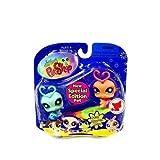Littlest Pet Shop: Special Edition Blue Lovebug (#838) And Pink Lovebug (#839) Action Figure