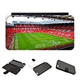 Leather Old Trafford (2) Manchester United Man Utd Football Ground iPhone Samsung Cover Case - iCaseCreatives (Samsung S6)