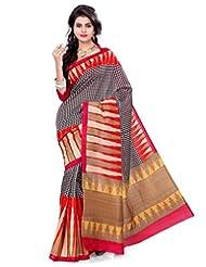 Deepika Saree Art Silk Saree With Blouse - B00PVXPU8S