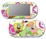 Spongebob Squarepants Sponge Bob Patrick Gummy Bear Toy Cartoon Video Game Vinyl Decal Skin Sticker Cover for Sony Playstation Vita Slim 2000 Series System