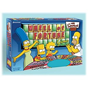Click to buy Wheel of Fortune game Simpsons from Amazon!