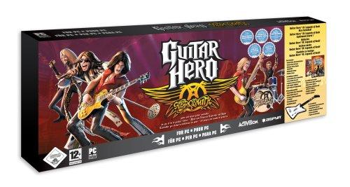 PC: Guitar Hero Aerosmith Bundle mit Gitarre für 34,97€