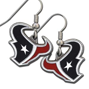 NFL Houston Texans Dangle Earrings
