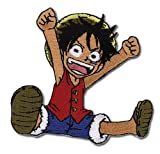 One Piece: Patch - Luffy (Iron-On)