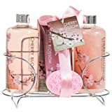Cherry Blossom Spa Gift Set In Stainl...