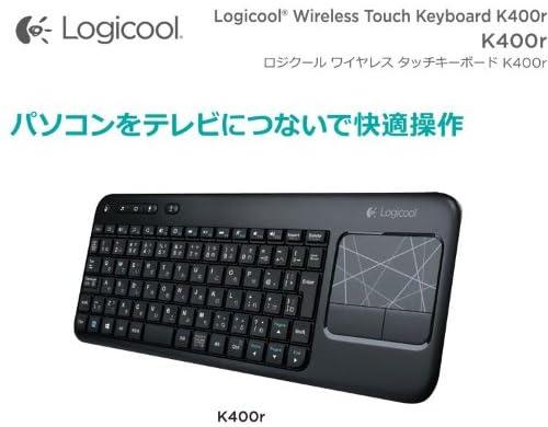 LOGICOOLタッチキーボード K400r