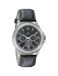 Titan Neo Black Dial Analog Watch For Men-1698SL02