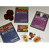 Amazing Easy To Learn Magic Tricks: Rope Magic Dvd, Spongeballs With Dvd, Magic With Everyday Objects Dvd, Emerson...