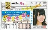 NMB48/AKB48 ナギイチ免許証【山田菜々】 / アイドルパーク
