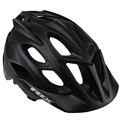 Fox Men's Flux Helmet, Matte Black, Large/X-Large