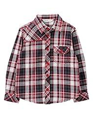 Yarn Dyed Check Shirt Red Check - B00OXWEV06