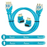 Aurum Pro Series - Pack Of 2 High Speed HDMI Cable (3 Ft) With Ethernet - Supports 3D & Audio Return Channel [...