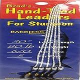 Brad's Killer Fishing Gear Brad's Hand Tied Leader - , 80 Lb, 6/0 Barbless Hook