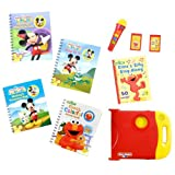 Story Reader Special Edition Library Set - Sesame Street And Mickey Mouse Clubhouse