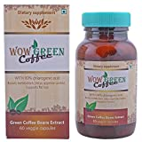 Wow Green Coffee Dietary Supplement, 60 Veggie Capsules, Pack Of 1