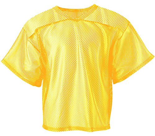 A4 NB4190 Youth All Porthole Practice Jersey - Gold, Extra S