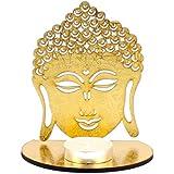 Giftacrossindia Shadow Diya Tealight Candle Holder Of Removable Buddha For Diwali Home Decor Gift Collection