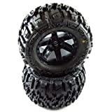 Proline 117012 Trencher 2.8 All Terrain Tires Mounted For Jato Nitro Stampede