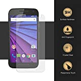 Motorola Moto G3 2.5D Curved Tempered Glass/Tempered Screen Protector/guard By Master Guard.