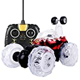 GOTD 360 Spin Fashion Stunt Car Music Remote Control LED Lights Rechargeable