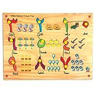 Skillofun Arabic Number Picture Tray, Multi Color