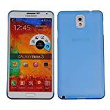 Cubix Translucent Series 0.3 MM Ultra Thin Matte Case Back Cover For Samsung Galaxy Note 3 N9000 (Blue)