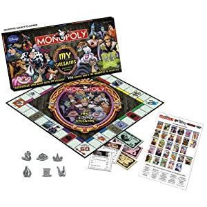 Click to buy My Disney Villains Monopoly from Amazon!