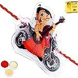 Rakhis Online - Chhota Bheem Bike Rakhi With Chocolate Gift Box
