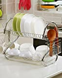 PINDIA FANCY FOLDABLE DIY STAINLESS STEEL KITCHEN RACK STAND (UTENSIL HOLDER)