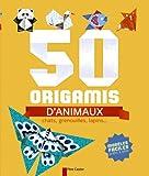 50 origamis d\'animaux : Chats, grenouilles, lapins... par Stéphanie Desbenoît-Charpiot