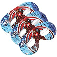 Theme My Party Eye Mask Pack Of 10 (Avengers)