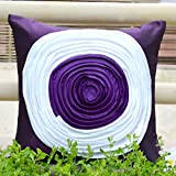 Cushion Casa Cushion Covers (Purple) - B00NMC8S3E