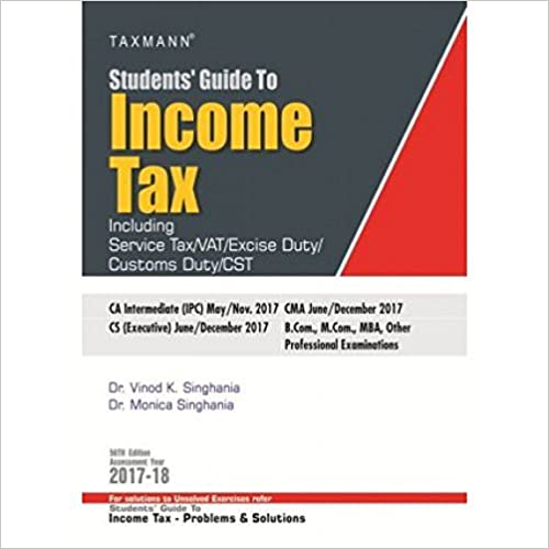 Students Guide to Income Tax A.Y 2017-18