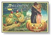Halloween: Romantic Art Postcard Book