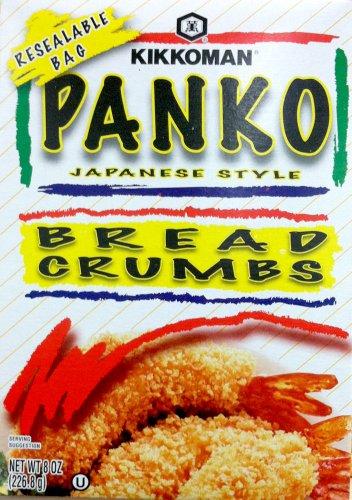Kikkoman PANKO BREAD CRUMBS Japanese Style 8oz (4 pack)