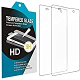 TRANSPARENT - SONY XPERIA XA, 2.5D Curved Edge Ultra HD+ 9H Hardness Premium Tempered Glass For TRANSPARENT -...