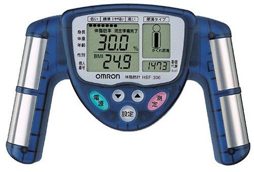 オムロン 体脂肪計 HBF-306-A ブルー