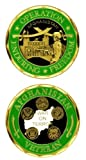 Operation Enduring Freedom (OEF) Afghanistan Veteran Challenge Coin (Eagle Crest 2271)