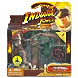 Indiana Jones Movie Deluxe Action Figure Indy with Spiked Pit Trap