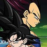 Dragon Ball Z Xbox One - Controller Skin - Dragon Ball Z Goku & Vegeta Vinyl Decal Skin For Your Xbox One - Controller