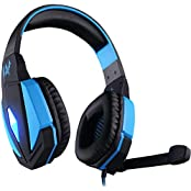 Generic EACH G4000 Stereo 3.5mm Plug Comfortable Gaming Headphone Headset Headband With Mic Volume Control Professional...