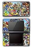 Super Smash Bros Melee Brawl Mario Pikachu Yoshi Mega Man Zelda Sonic Metroid Video Game Vinyl Decal Skin Sticker Cover for Original Nintendo 3DS System