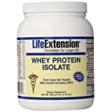 Life Extension Enhanced Life Whey Protein Isolate, Supplement Chocolate, 1 Pound