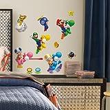 ROOMMATES 673SCS Nintendo Super Mario Peel and Stick Wall Decals