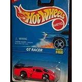 #468 GT Racer 5-spoke Wheels No Tampo Collectible Collector Car Mattel Hot Wheels