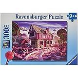 Ravensburger Puzzles Candy Cottage, Multi Color (300 Pieces)