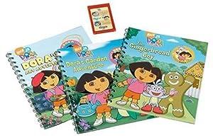 Amazon.com: Story Reader Dora the Explorer 3 Book Pack